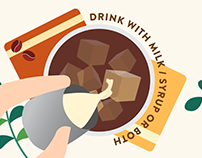 Dunkin' Donuts Cold Brew Infographic Video