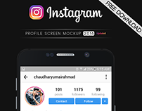 Instagram Profile Mockup 2016 (Latest) | FREE DOWNLOAD