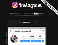 Instagram Profile Mockup 2016 (Latest) | FREE DOWNLOAD