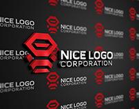 Indigo - robot ninja logo