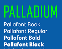 Palladium Bespoke Fonts