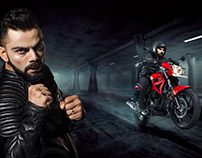 Honda Hero India Retouching