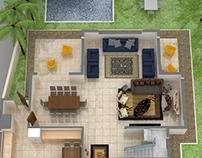 3D Villa /Interior Design