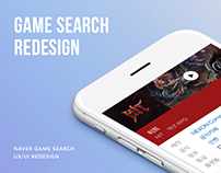 Naver Game Search UX/UI Redesign