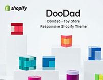 Doodad – Toy Store Responsive Free Shopify Theme