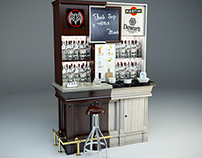 Bacardi Home bar