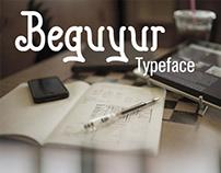 Beguyur Typeface