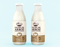 Packaging Design: Organic Rice Milk