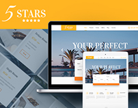 5 Stars - Hotel, Spa & Resort WordPress Theme