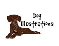 Miss Design Berry: Dog Illustrations