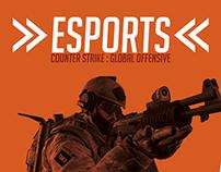 Esports magazine spread