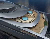 FEADSHIP Sustainable Super Yacht Catamaran