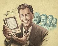 Skype, Twitter, Facebook e Youtube vintage