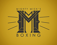 Mighty Mick's Boxing Gym Logo