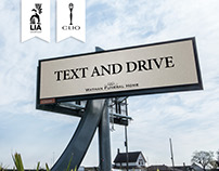 Text and Drive - OOH