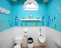 Kids Restroom Interior Design / ReDiseño Baño de Niños