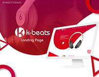 K-beats - Landing Page