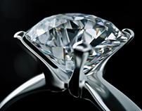 Engagement Ring Octane Render