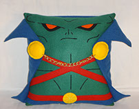 Handmade Justice League Martian Manhunter v1.43 Pillow