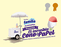 Familia / The Amazing Paper Cone