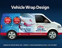 WashMe Mobile Logo & Branding