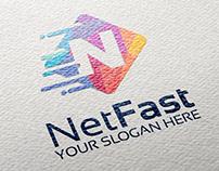 Net Fast ( Broadband logo )