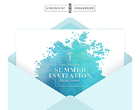 Lincoln of Englewood - Summer Invitation
