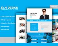 Designer Website template