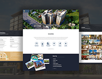 The Lifestyle luxuries Apartment Website Design