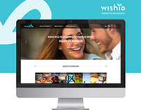 Wishio - Website Redesign