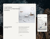 Studio Kali - redesign concept
