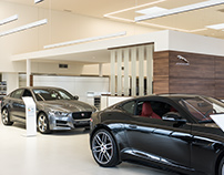 INCHCAPE - Jaguar/Landrover Showroom interior