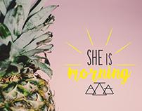 Branding Story #2 She is Morning