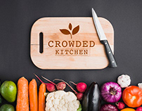 Propuesta de logotipo para crowded kitchen