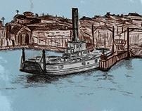 Koondooloo - Car Ferry and Sydney Showboat