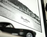 Bellair Hill - Thumbprint Guestbook