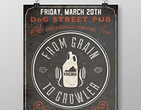 Grain to Growler Poster