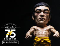 Plastic Cell X Bruce Lee