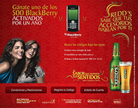 Redd´s Promo BlackBerry