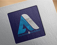 """Logo design for """"Arquitectura & Inmobiliaria"""""""