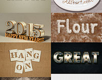 69+ Awesome Photoshop Text Effect Tutorials