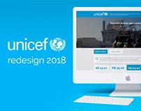 Unicef Redesign 2018