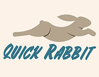 Quick Rabbit Logo Design