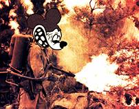 Mouse in War - ILLUSTRATION