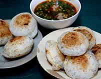 cách làm Bánh Căn – Mini-pancakes with Meatball Sauce