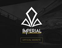 Team Imperial website design