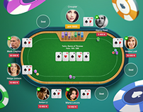 Poker game - app for social network