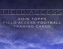 2015 Topps Field Access Football Trading Cards