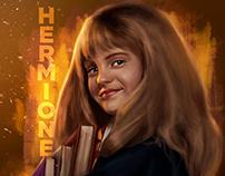 Hermione - Digital Painting