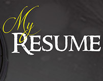 personal creative resume
